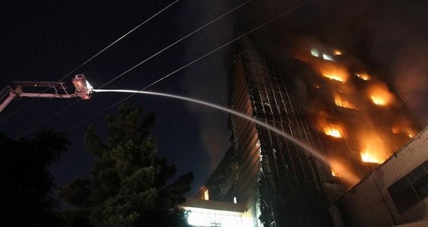 اتصالی سیم های برق علت آتش سوزی هتل زائران ایرانی در نجف