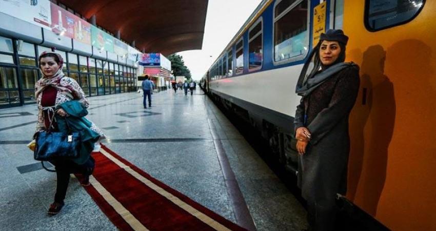 بیشترین ترددهای مسافر با قطار در مسیر مشهد