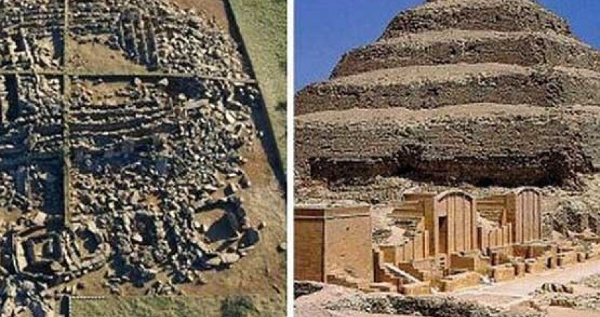 کشف هرمی در قزاقستان که 1000 سال زودتر از اهرام مصر ساخته شده است