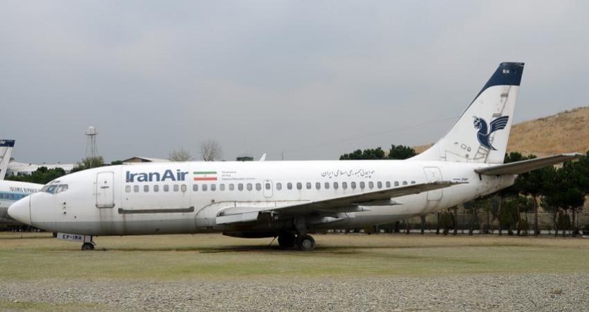 خروج هواپیمای فرسوده فوکر 100 از فرودگاه مهرآباد
