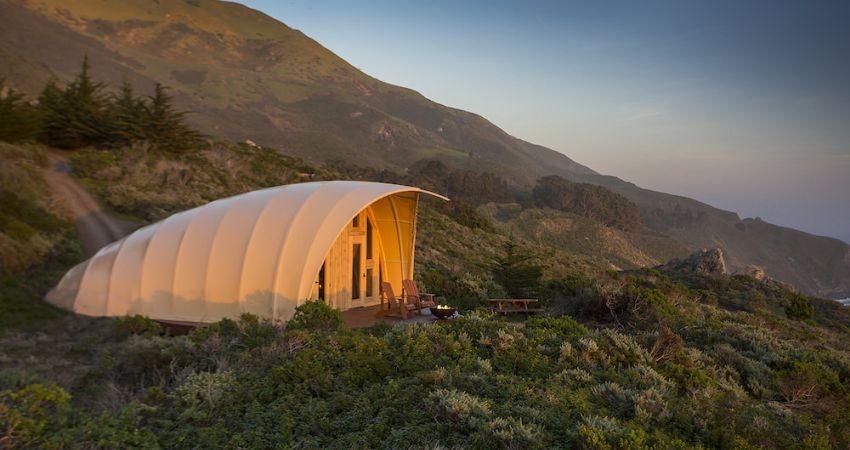 چادر مسافرتی با امکانات هتل 5 ستاره