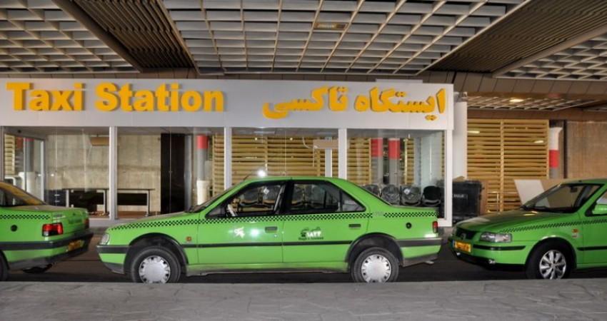 الکترونیکی شدن تابلو ایستگاه های تاکسی