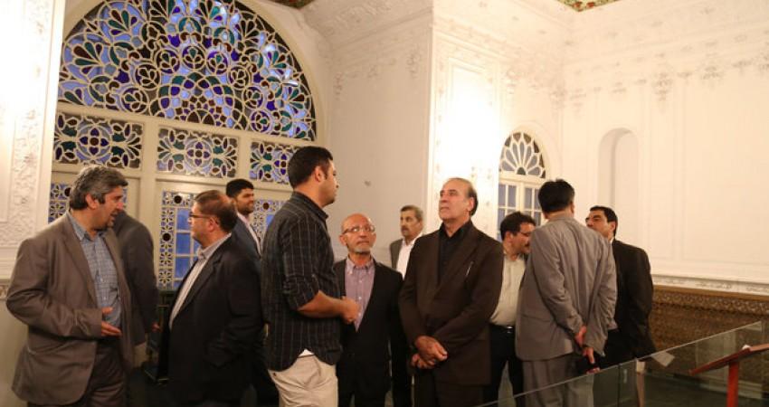بازدید نمایندگان کمیسیون برنامه و بودجه مجلس از کاخ نیاوران