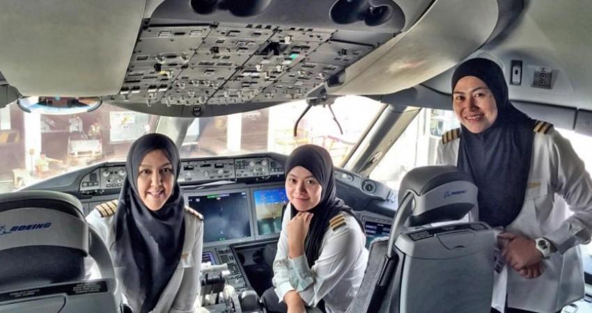 صدای گام های زنانه در صنعت هواپیمایی جهان