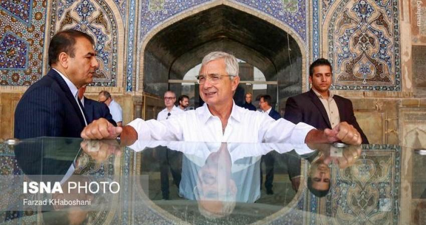 اشتیاق رئیس مجلس ملی فرانسه برای دیدن اصفهان