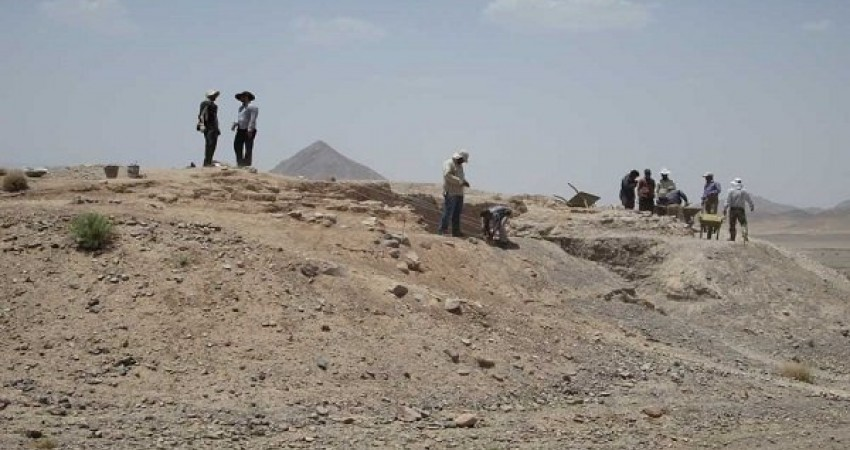 سازه معماری از دوره تاریخی در تاکستان کشف شد