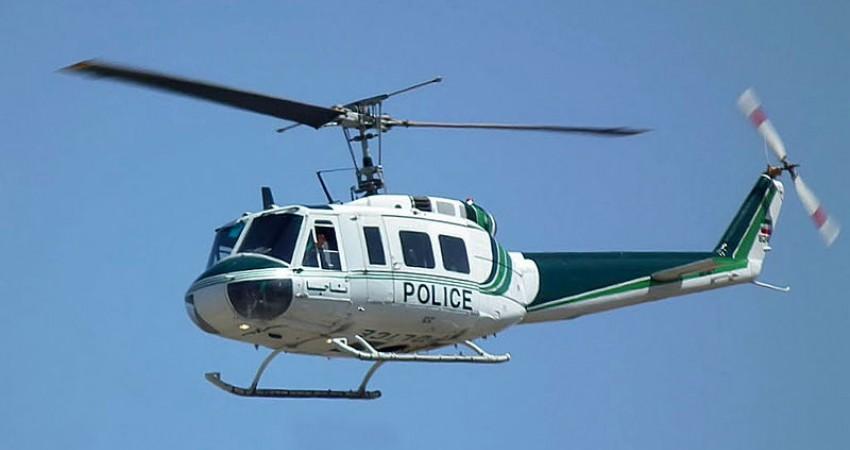 نظارت یک هفته ای پلیس بر ترافیک با استفاده از بالگرد در هفته اول مهر