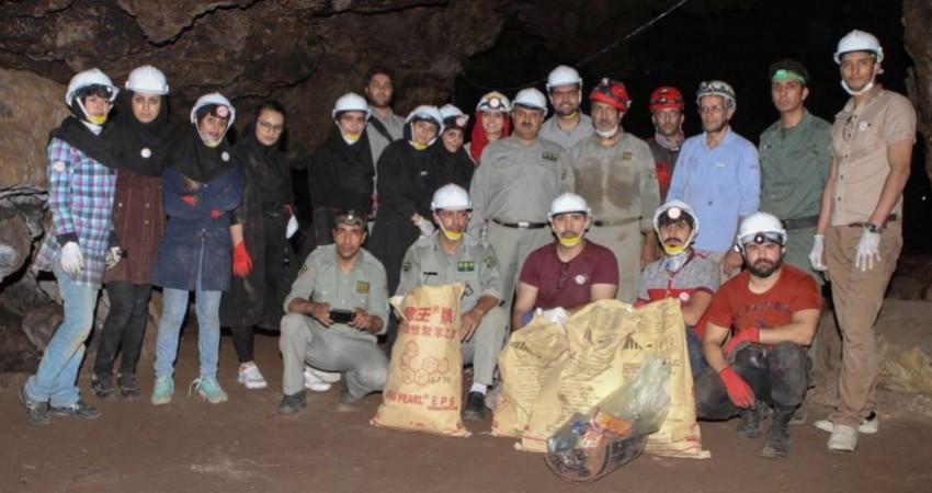 پاکسازی غارهای خراسان رضوی به مناسبت روز غارهای پاک