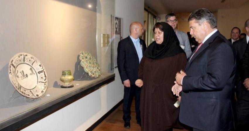 «گابریل» در کاخ گلستان و موزه ملی ایران