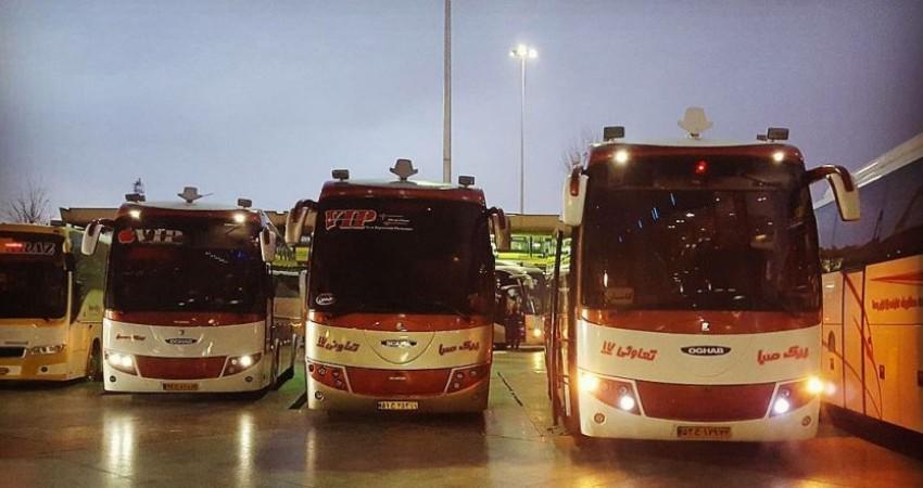 ممنوعیت ورود اتوبوس های بین شهری به تهران