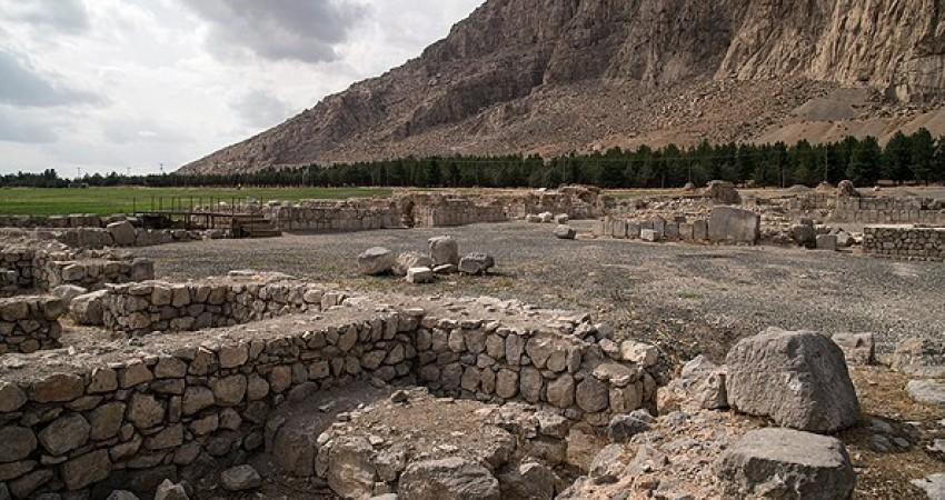 کاخ نیمه تمام ساسانی در حال ساماندهی است