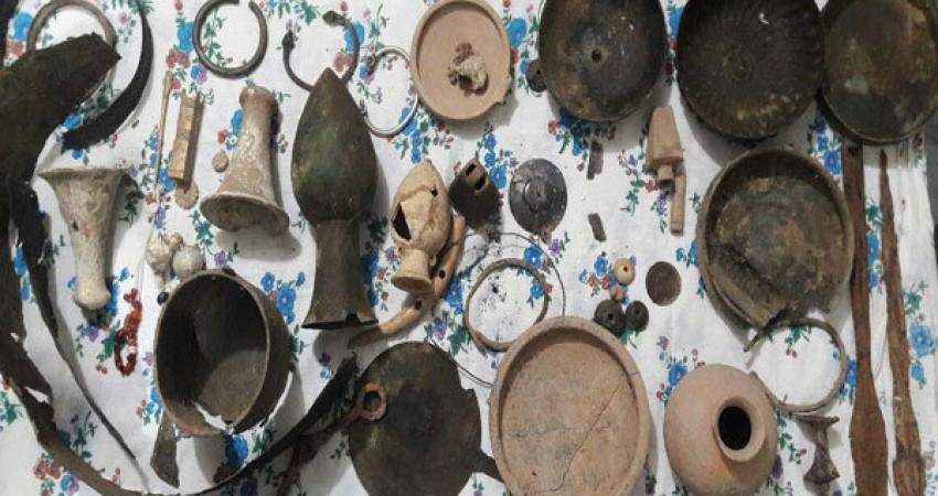اشیا تاریخی 3 هزار ساله در کردستان کشف شدند