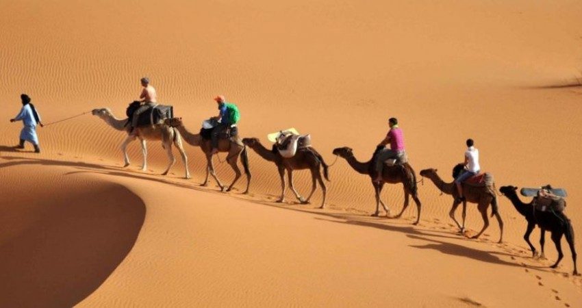 رونق صنعت گردشگری با جاذبه های کویر