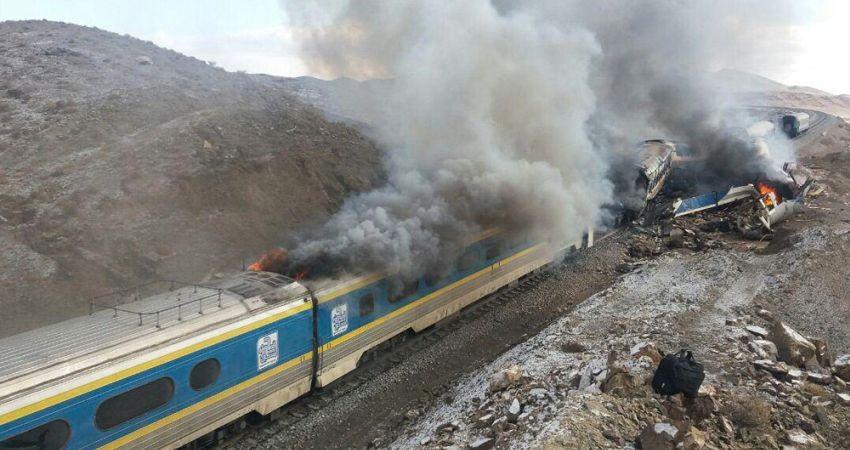 تعداد قربانیان تصادف قطار در سمنان به 36 نفر رسید