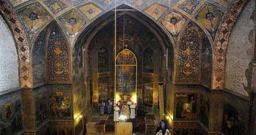 کلیسای بیت لحم جاذبه ای دیگر از اصفهان