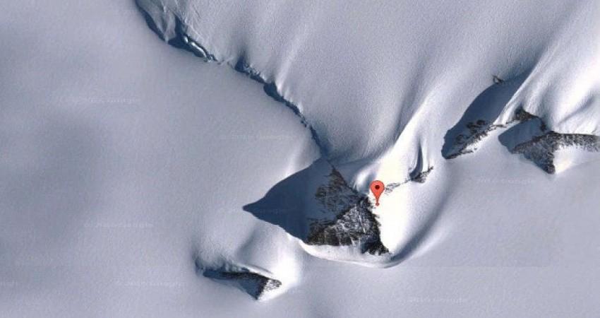 آیا هرم جدیدی در قطب جنوب کشف شده است؟
