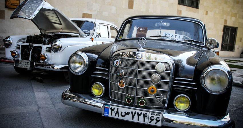 پیک صلح در موزه خودروهای اختصاصی نیاوران