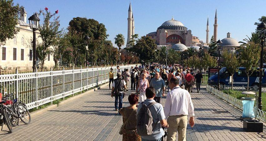 کاهش 17 درصدی درآمد گردشگری ترکیه در سه ماه
