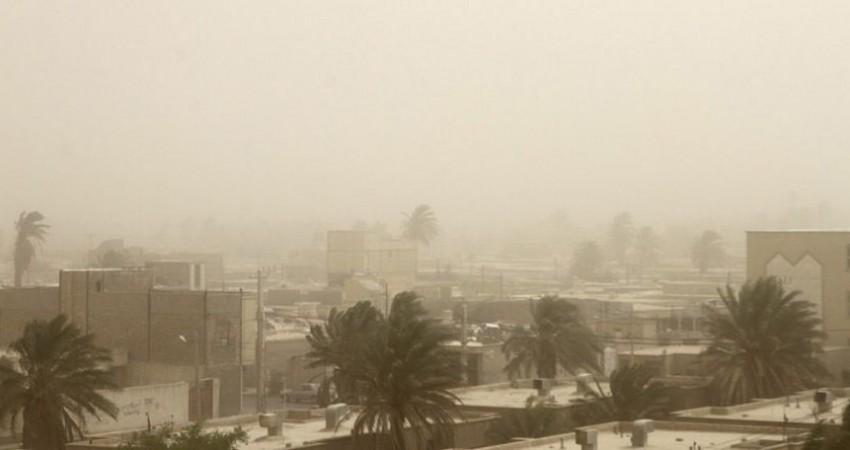 غبار صورتی در سیستان و بلوچستان