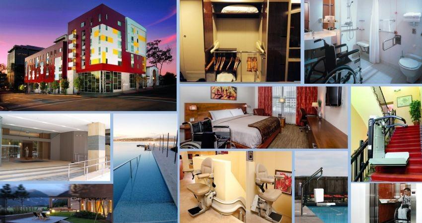 طراحی اتاق هتل ویژه معلولان