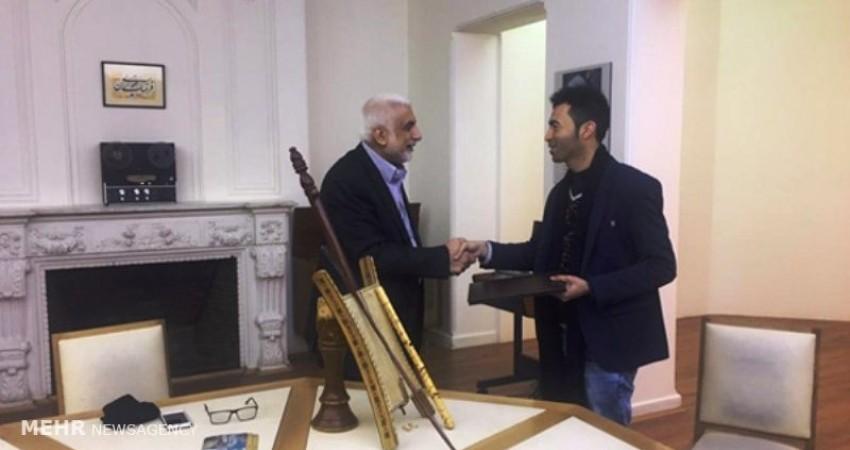 3 ساز عربی اهواز به موزه ملی موسیقی کشور اهدا شد