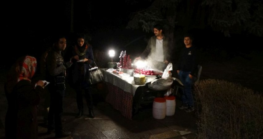 تهرانگردی به بهانه یلدا در اولین شب زمستان