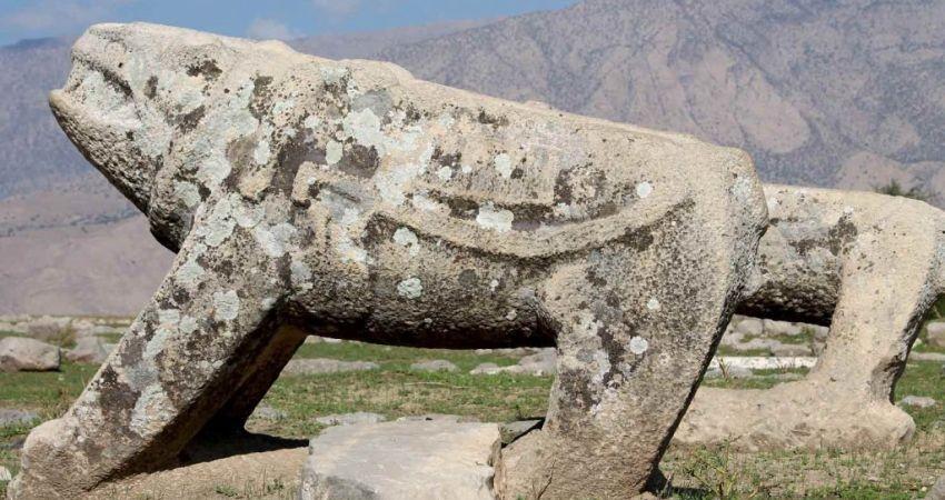 ثبت شیر سنگی در فهرست آثار ملی کشور