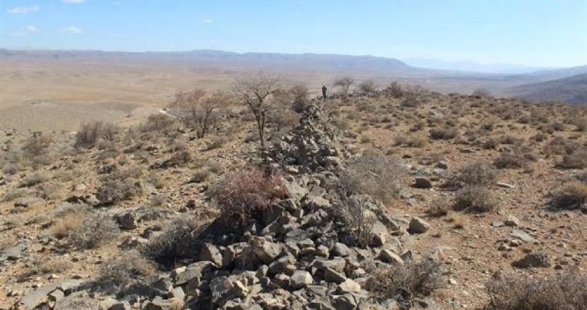 کشف دیوار 20 کیلومتری هخامنشی در مشهد مرغاب
