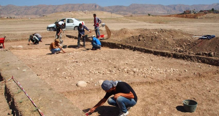 کشف گور هخامنشی در شمال عراق