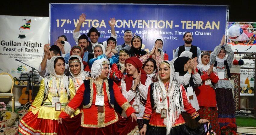 بازتاب مثبت کنوانسیون جهانی راهنمایان ایران در خبرگزاری افه