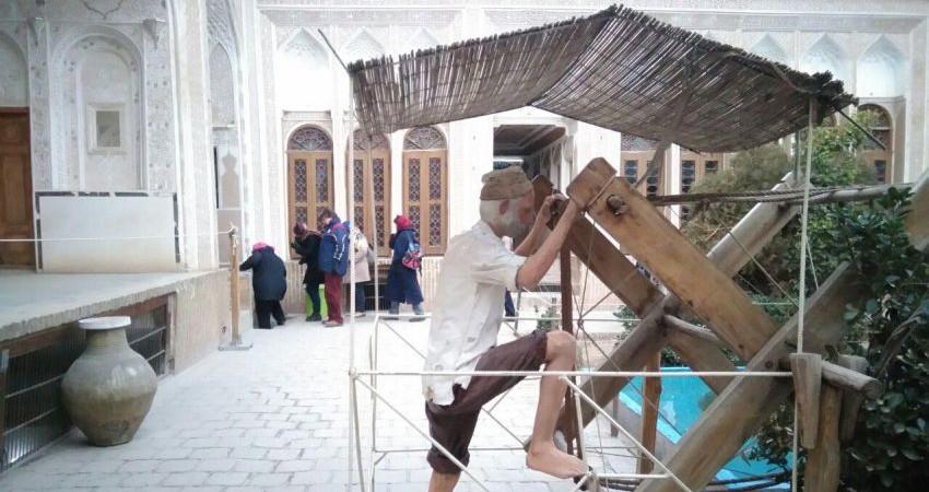 راهنمایان گردشگری از شهر یزد بازدید کردند