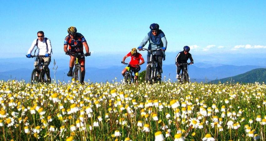 راهنمایان تخصصی تورهای دوچرخه سواری روی کار می آیند