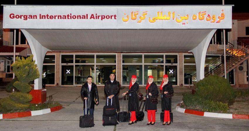 برقراری اولین پرواز هواپیمایی قشم در مسیر تهران-گرگان