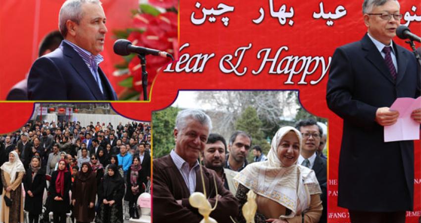 جشنواره عید بهار چین در کاخ نیاوران افتتاح شد