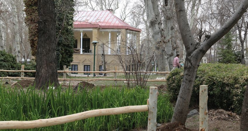 احیا و بازسازی باغ ژاپنی کاخ نیاوران