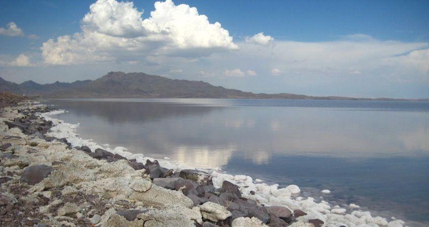 افزایش تراز دریاچه ارومیه در پی بارندگی های اخیر