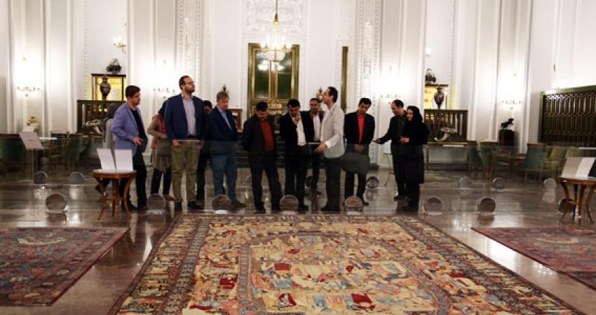 بازدید شرکت کنندگان خارجی همایش پاسداری از میراث فرهنگی ناملموس از کاخ نیاوران