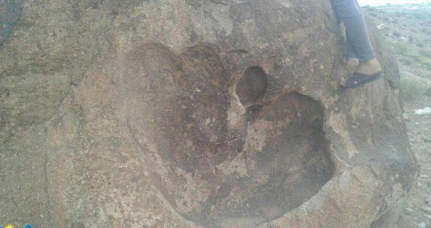کشف اثر دست گونه ای از دایناسور در رابر کرمان؟!