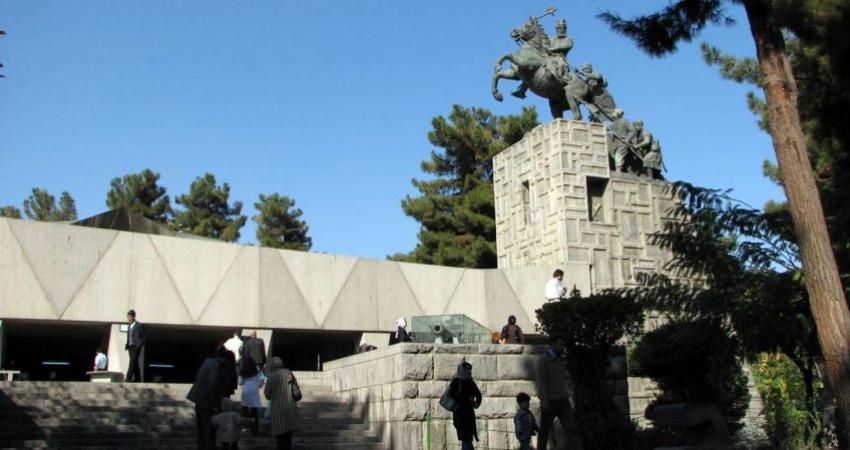 مطالعات علمی و حفاظت مجسمه نادرشاه پایان یافت