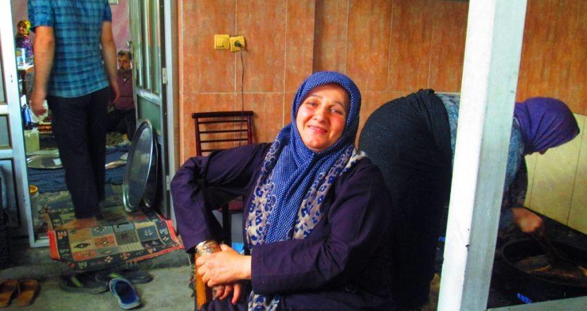 دستپخت این خانم، یک روستا را آباد کرده است