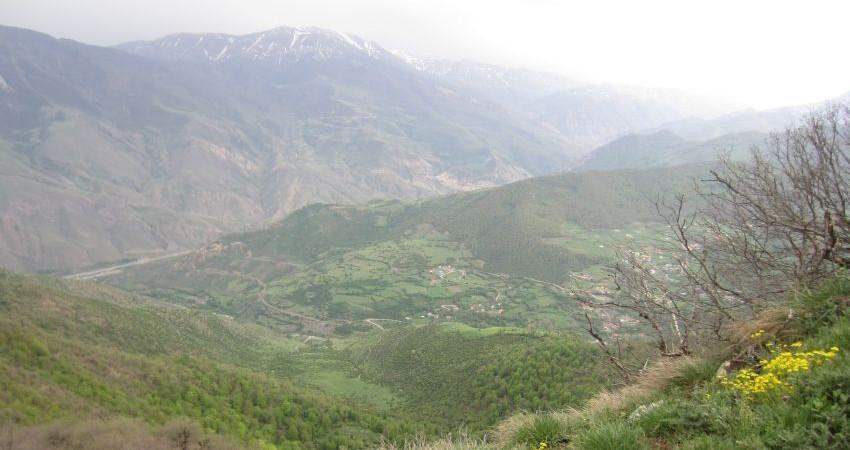 طبیعت گردی در جنگل و روستای ارفع ده