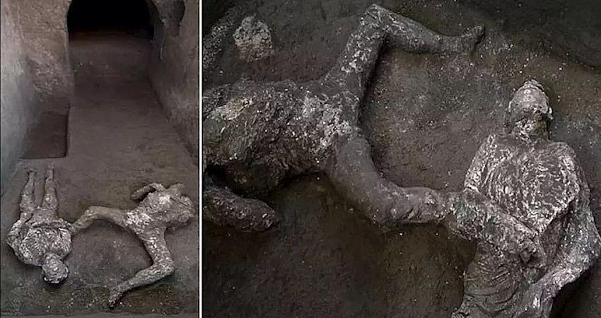 کشف یک مومیایی در «پمپئی»