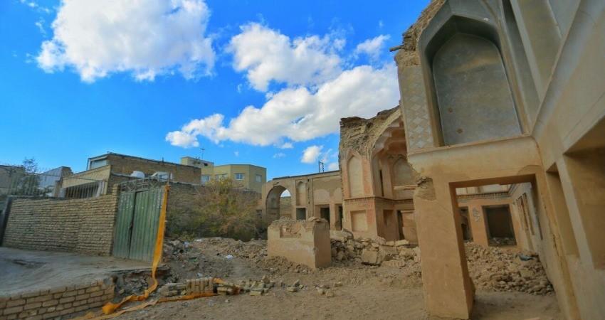 درخواست برخورد با عاملان تخریب بنای تاریخی در اصفهان