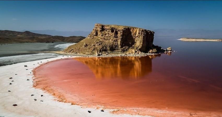 تراز دریاچه ارومیه 6 سانتیمتر افزایش یافت