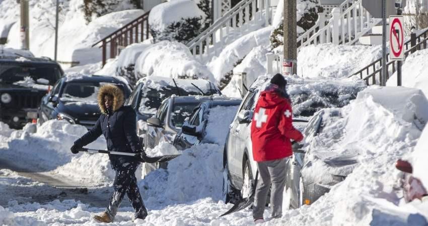 سردترین شب تاریخ با دمای منفی ۳۵ در آمریکا