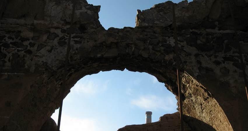 فاز اول مرمت آتشکده ساسانی نطنز به پایان رسید