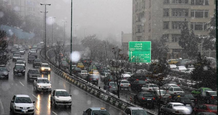 سامانه بارشی جدیدی یکشنبه وارد کشور می شود