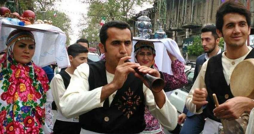 موسیقی اقوام ایرانی در نمایشگاه گردشگری تهران