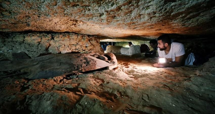کشف گورستان دو هزار ساله در جنوب مصر