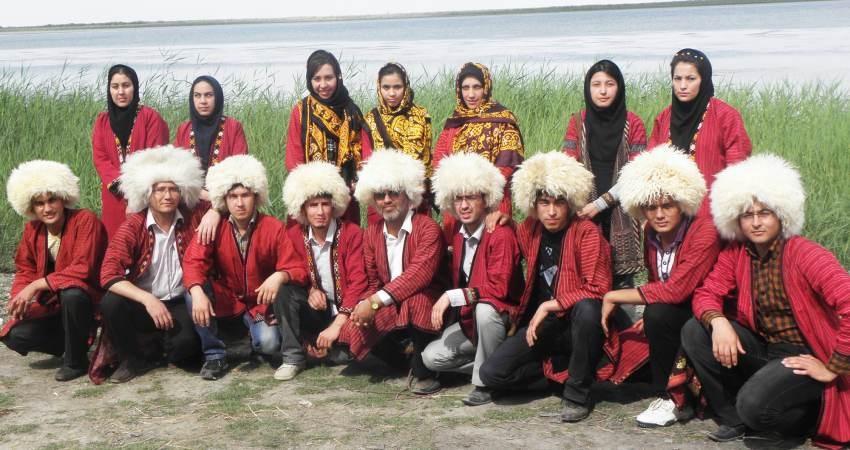 افتتاح کاخ نوروز در ترکمنستان